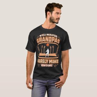 Camiseta Os vovôs bem comportados fazem raramente o atleta