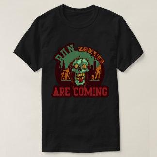 Camiseta Os zombis do funcionamento são T de vinda