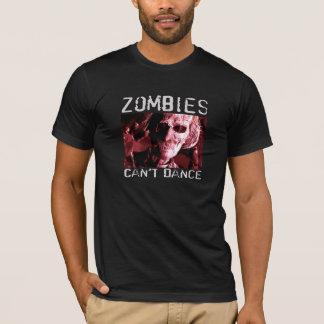 Camiseta Os zombis não podem dançar - o t-shirt cabido