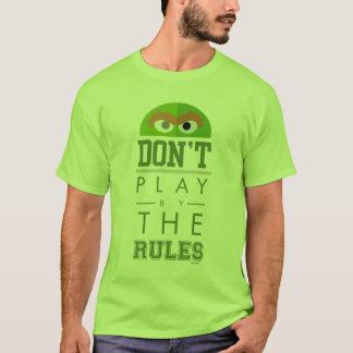 Camiseta Oscar não joga por regras
