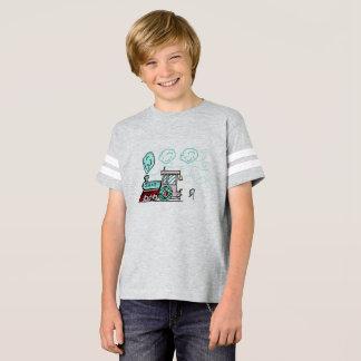 Camiseta Oscar o t-shirt do trem por DrParanoidAndroid