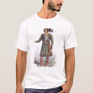 """Camiseta Osceola ou """"ascensão Sun"""", um líder do Seminole"""