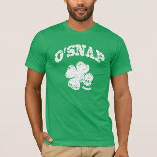 Camiseta O'SNAP - St Patrick engraçado
