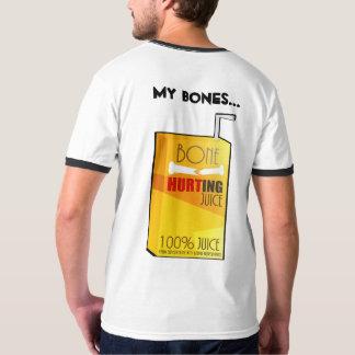 Camiseta Osso que fere o suco