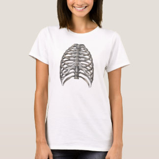 Camiseta Ossos esqueletais de esqueleto dos reforços da