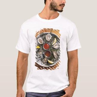 Camiseta Ostras cruas arranjadas