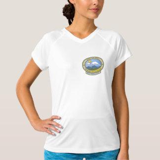 Camiseta OTH! T-shirt Dobro-Seco do V-Pescoço do campeão