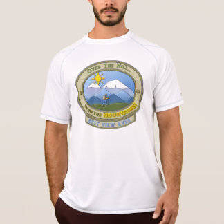 Camiseta OTH! T-shirt seco da malha do dobro do campeão dos