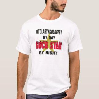 Camiseta Otolaryngologist em o dia rockstar em a noite