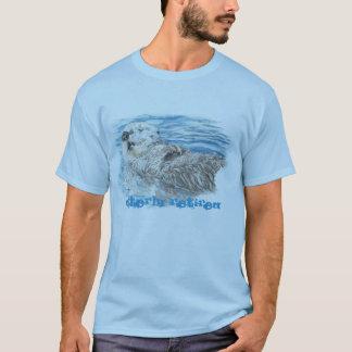 Camiseta Otterly aposentou-se a lontra bonito cómico da