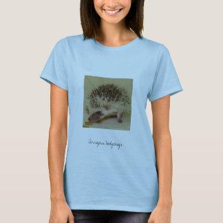 Camiseta Ouriços da tartaruga de água doce da separação de