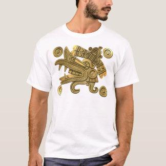 Camiseta Ouro asteca Ehecatl