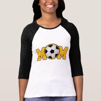 Camiseta Ouro da mamã do futebol