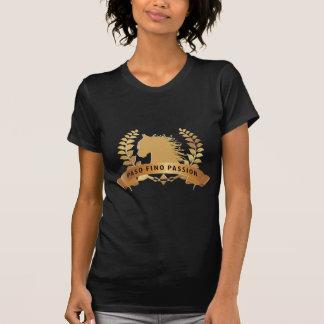 Camiseta Ouro da paixão de Paso Fino