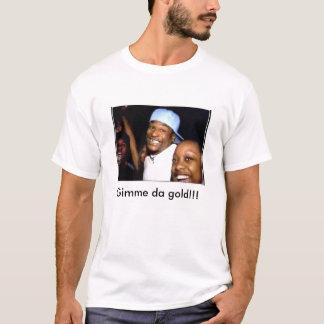 Camiseta Ouro de Gimme a Dinamarca!!!