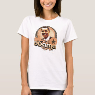 Camiseta Ouro de Obama
