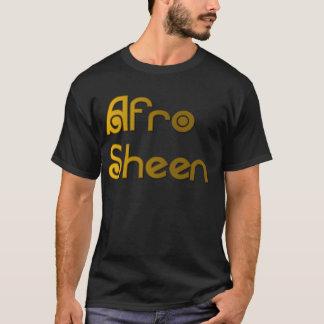 Camiseta Ouro de Sist- do brilho do Afro