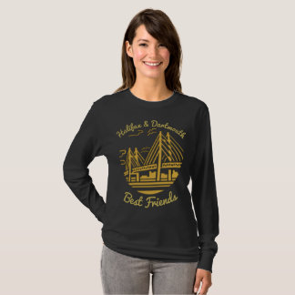Camiseta Ouro dos melhores amigos de Nova Escócia Halifax