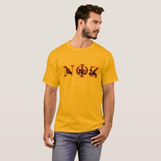 Camiseta Ouro T do Zeta da phi do NU