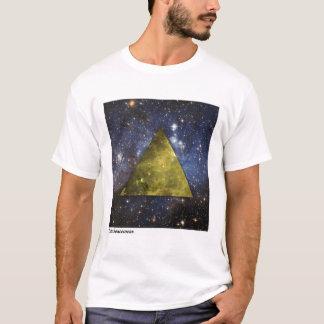Camiseta OuterSpacewear - pirâmide AMARELA