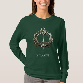 Camiseta Outlander | o broche do clã de MacKenzie