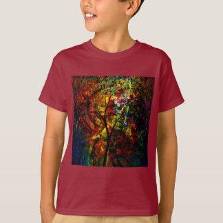 Camiseta Outono abstrato