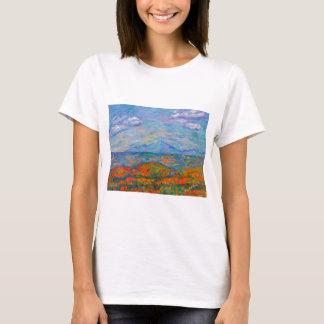 Camiseta Outono azul enevoado de Ridge