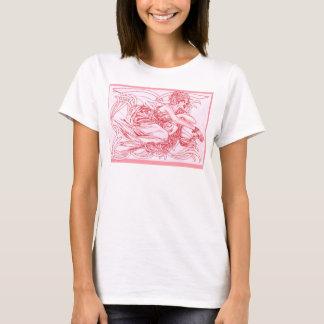 Camiseta Outono flamejante Phoenix
