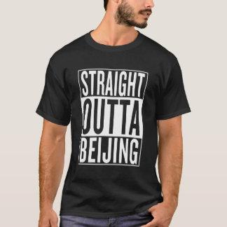 Camiseta outta reto Beijing