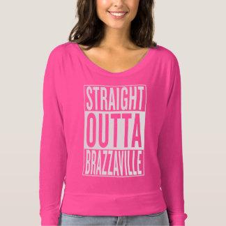 Camiseta outta reto Brazzaville