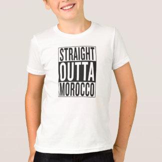 Camiseta outta reto Marrocos