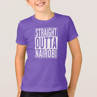 Camiseta outta reto Nairobi