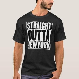 Camiseta Outta reto New York
