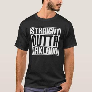 Camiseta Outta reto Oakland