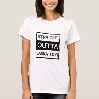 Camiseta Outta reto Saskatoon