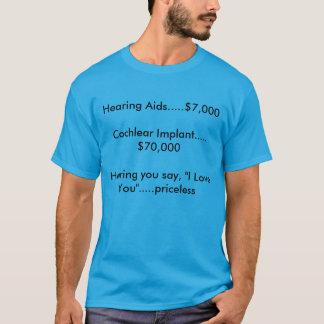 """Camiseta Ouvindo o diga """"eu te amo"""" ..... impagável"""