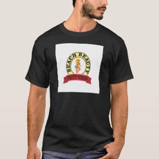 Camiseta oval bonito da mulher