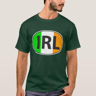 Camiseta Oval da IRL com bandeira