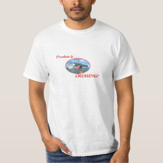 Camiseta Oval do cruzeiro de Sailaway