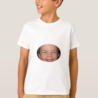 Camiseta Oval feliz do macaco