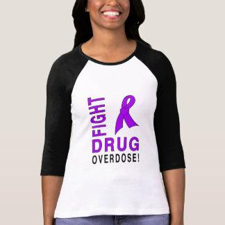 Camiseta Overdose de droga da luta