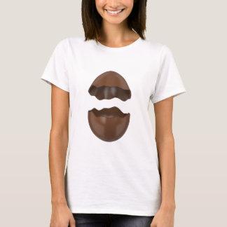 Camiseta Ovo de chocolate quebrado