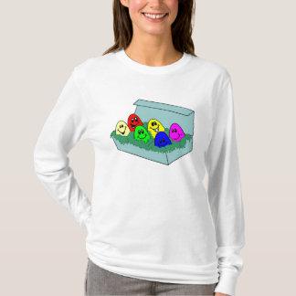 Camiseta Ovos de felz pascoa