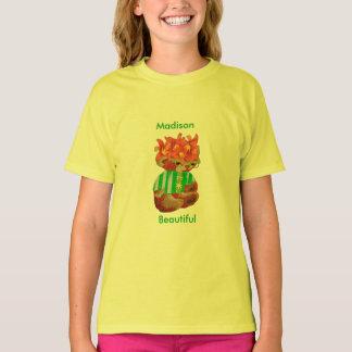 Camiseta Oxidado o interior bonito do urso & para fora