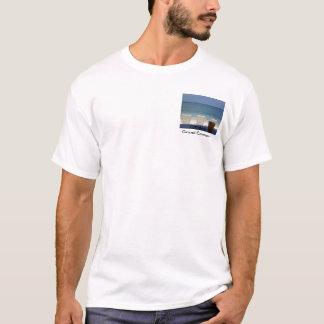 Camiseta P4190080, por do sol de Grande Caimão