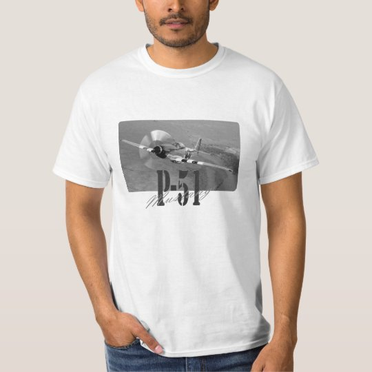 Camiseta P-51 Mustang