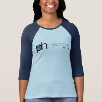 Camiseta p.h. filmes & mulheres equilibrados no t-shirt do