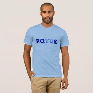 Camiseta P.P.O.S. Homens azuis das indicações ultra