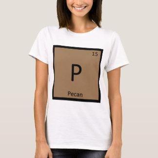 Camiseta P - Símbolo da mesa periódica da química da porca