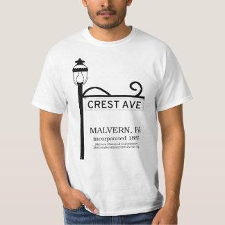 Camiseta PA de Malvern - T-shirt da avenida da crista